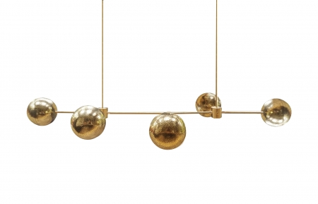 Chandelier Brass Silo Web