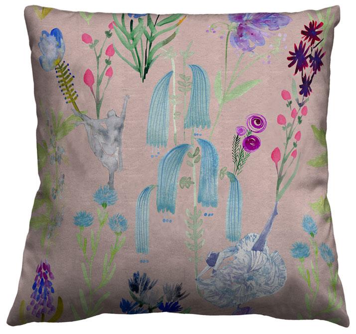 Dunham Pillow Pink Web