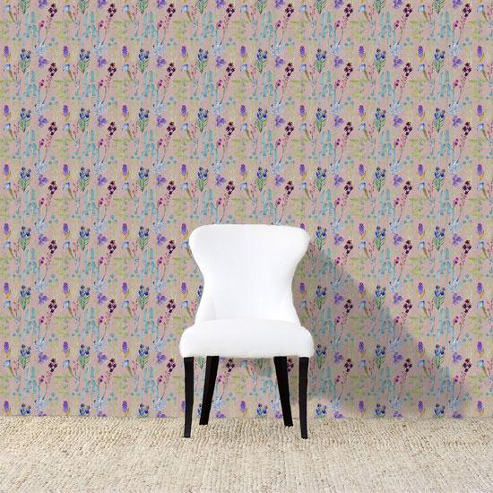 Dunham Wallpaper Pinkweb