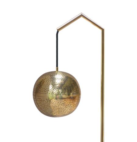Floor Lamp Brassweb