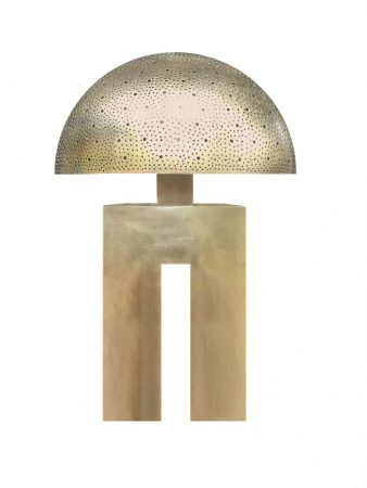 Table Lamp Brassweb
