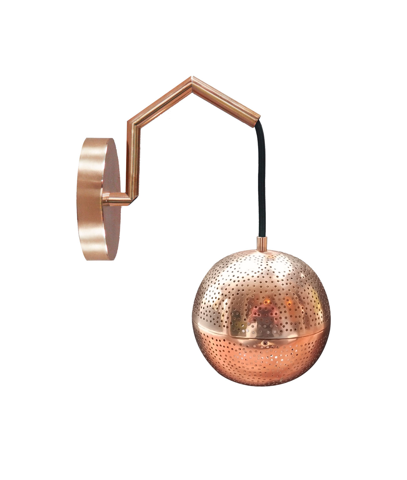 Wall Sconce Copperweb