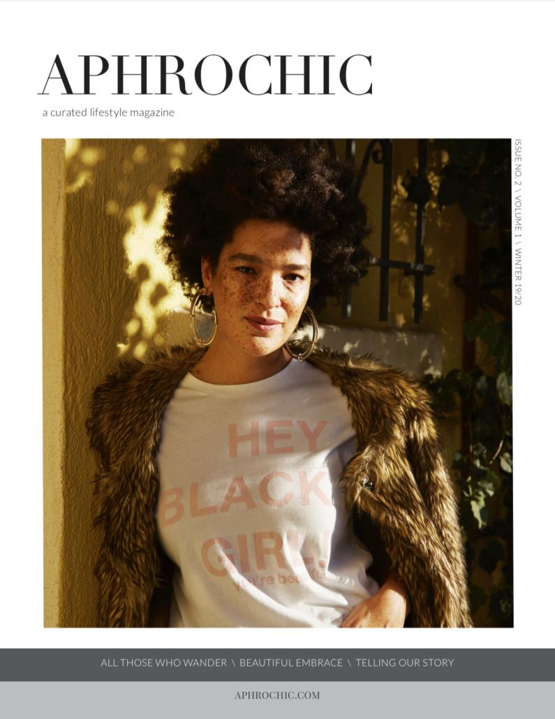 AphroChic Magazine Issue 2 Nikia Phoenix